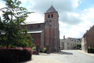 Photo: l'église de Etikhove