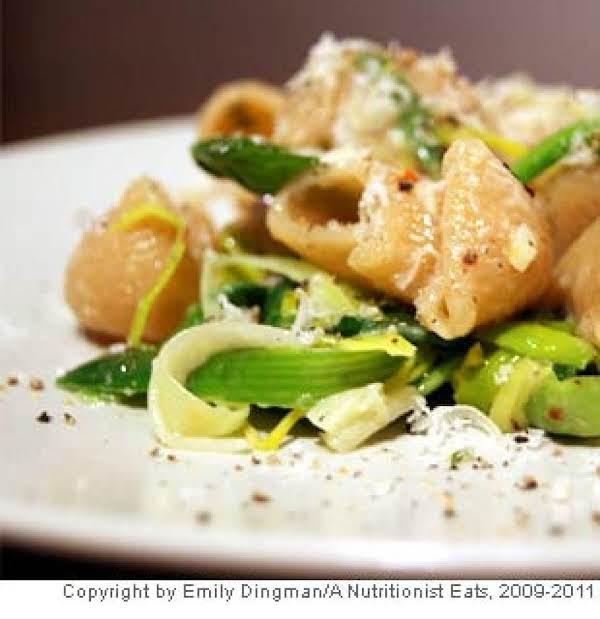 Creamy Leek & Spinach Pasta Recipe