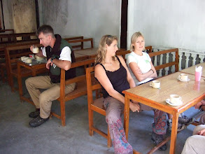 Photo: Keith, Suzy, and Squash at Breakfast