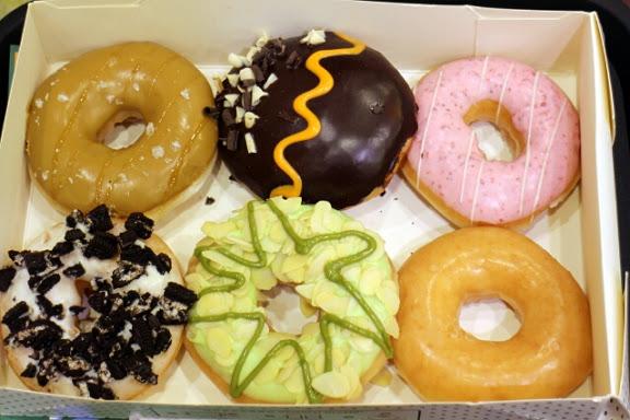 Krispy Kreme Doughnuts(信義威秀店)-螞蟻人必嚐之多口味甜甜圈