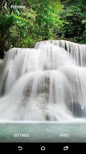 Ztracené vodopád Živá Tapeta - náhled