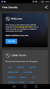Free Sounds - náhled