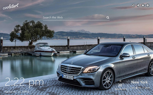Mercedes-Benz HD Wallpapers Sports Cars Theme