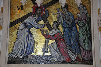 Photo: Eighth Station: Christ meets the women of Jerusalem