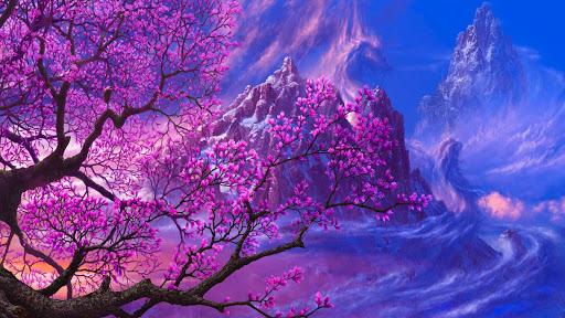 Sakura Live Wallpaper Plant