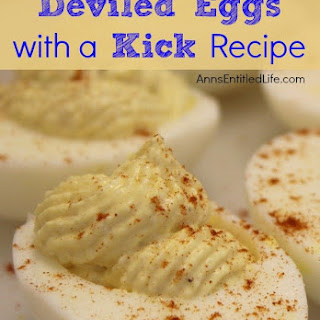 Deviled Eggs with a Kick.