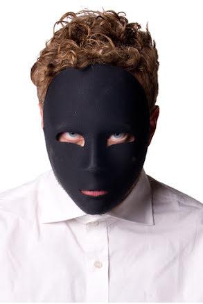 Ansiktsmask, svart