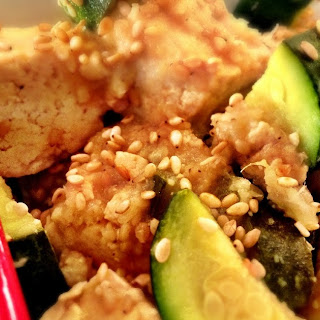 Island Teriyaki Crockpot Tofu