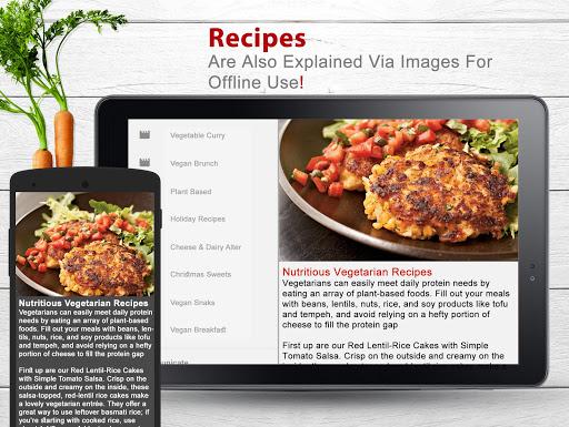 Tasteful Vegan Recipes 1.9 screenshots 5
