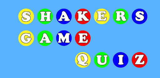 Guess your favorite characters, shakers game.