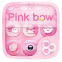 Pink Bow GO Launcher Theme icon