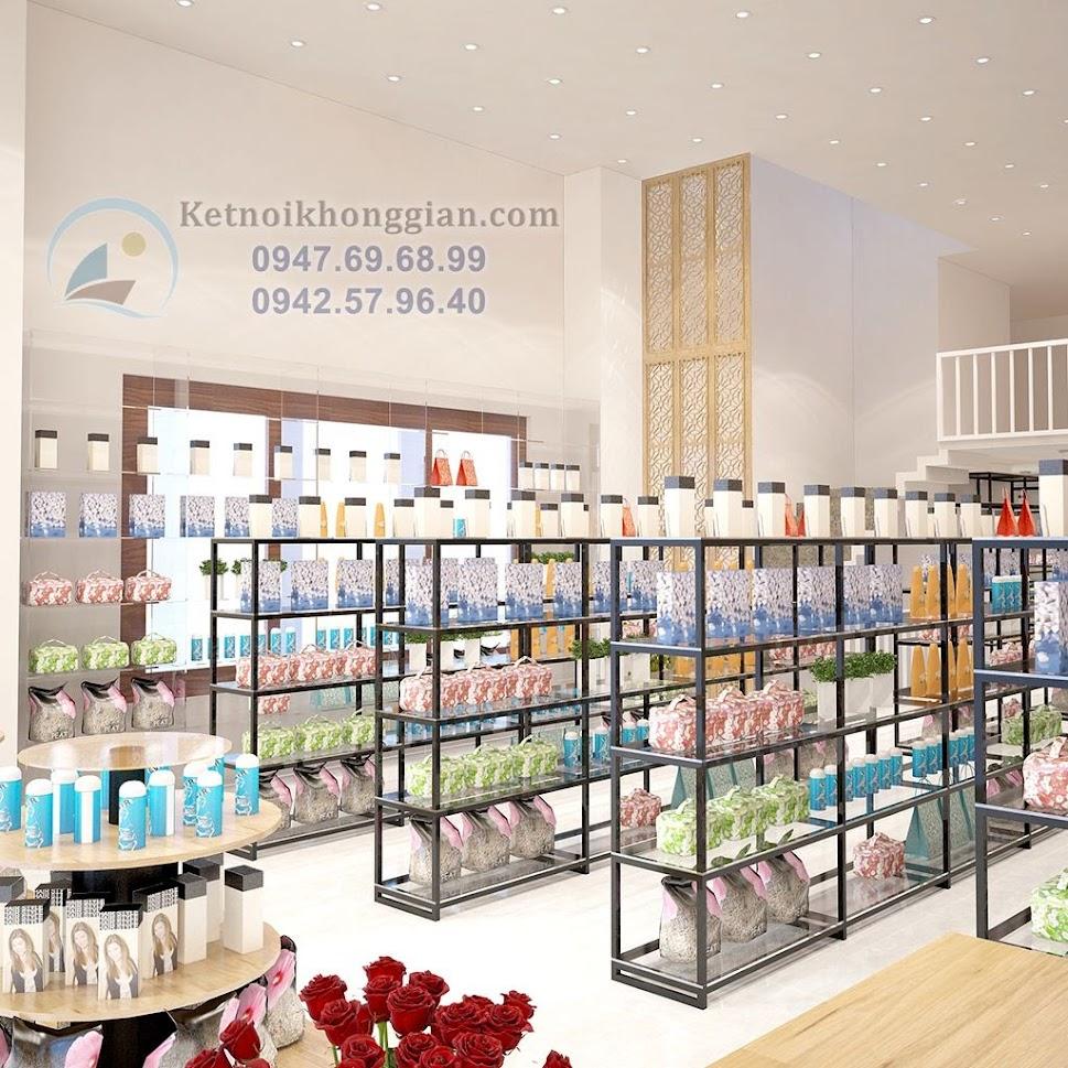 thiết kế siêu thị mini đẳng cấp