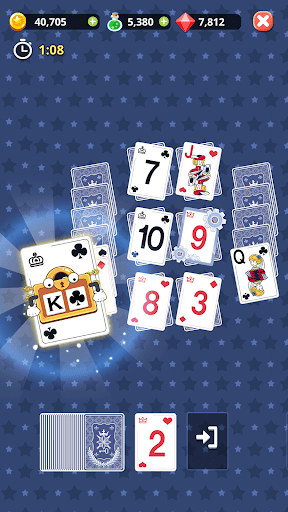 Theme Solitaire Tripeaks Tri Tower: Free card game 1.3.4 Screenshots 7