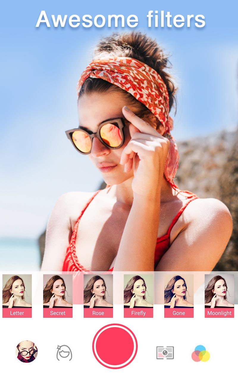 Sweet Selfie Pro - No Ads, Unique Filter & Sticker Screenshot 1