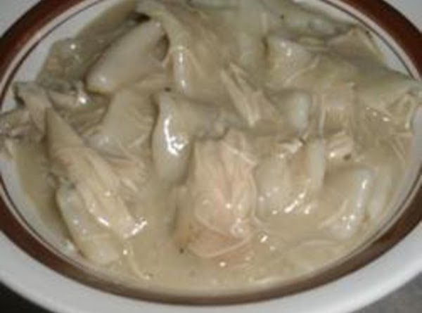 Fannie's Homemade Chicken And Dumplings Recipe