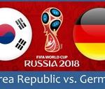 Korea Republic vs. Germany (Group F) - Live Game : German Club Cape Town - Deutscher Verein Kapstadt