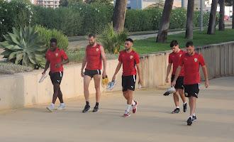 Entrenamiento del Almería 20 de julio