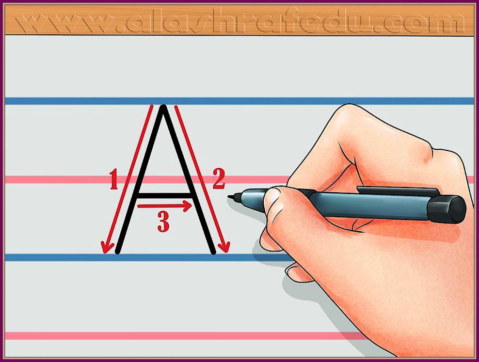 Capital Letter بتعلم كتابة الحروف الإنجليزيه الكبيره Y0Tau5D1N8-4pCu0u02z