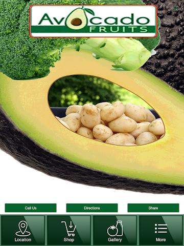 android Avocado Fruits Screenshot 3