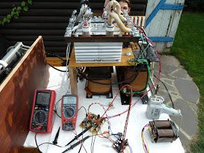 Photo: Pravý merák - nastavený prúd(30A) ľavý merák - skutočný prúd.