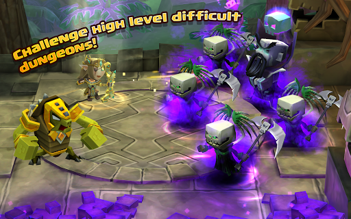 Dungeon Boss Heroes - Fantasy Strategy RPG screenshot 6