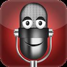 Cambiador de voz simple icon