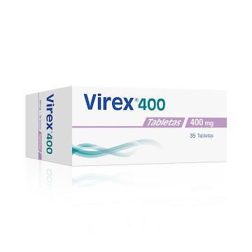 Virex 400Mg Tabletas