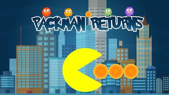 Packman Returns - Classic Pac man Pop - náhled