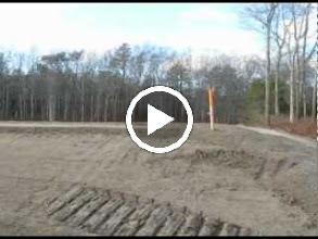 Video: Video clip 0:26 minutes 1-3-2012. Shows very flat final grade