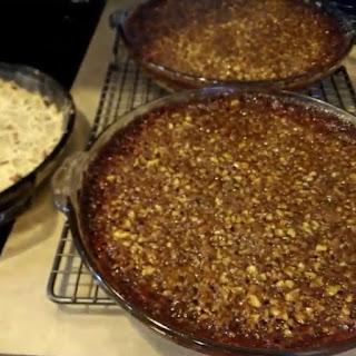 Gluten Free Maple Pecan Pie Bars.