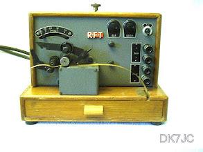 """Photo: Morse-Schreiber  RFT 1955  """"DM""""  #186"""