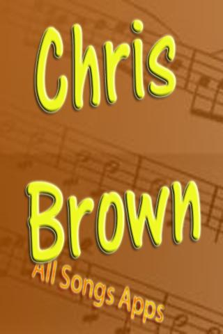 All Songs of Chris Brown