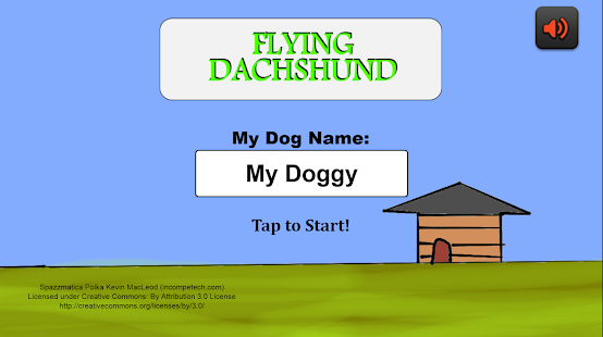 Dogs Games: Flying Dachshund- screenshot thumbnail