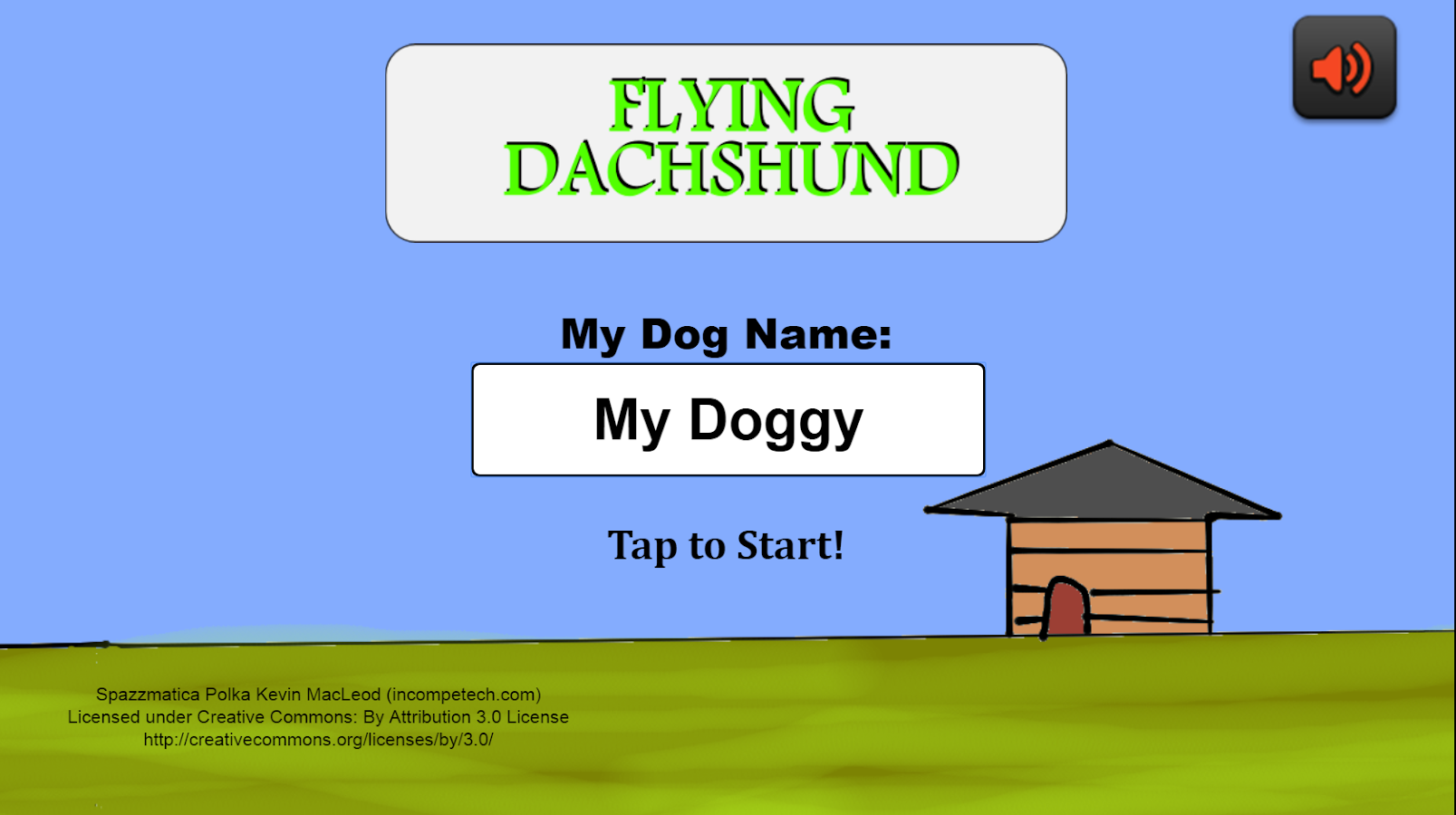 Dogs Games: Flying Dachshund- screenshot