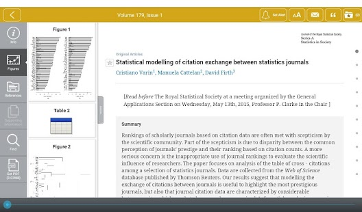 Journal of the RSS Series A- screenshot thumbnail