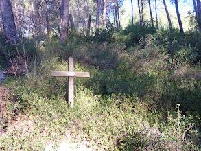 Photo: Le début de notre chemin de croix !