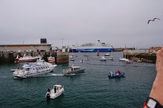 Photo: BRETANYA 2013. ROSCOFF.Port de Bloscon