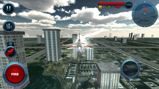 Jet Plane Fighter City 3D 1.0 screenshots 1