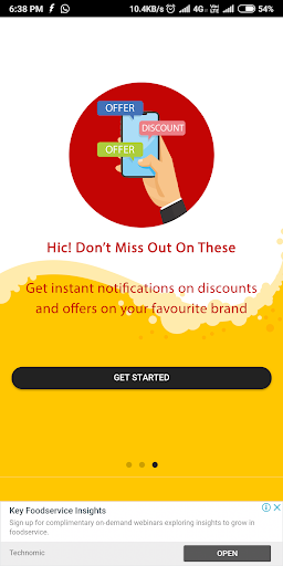 One More Down - Drinks Offer Finder and Events App ss2