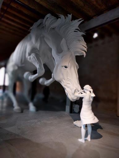 La ragazza e il cavallo