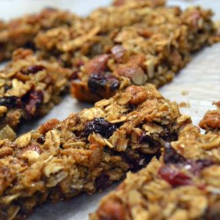 Cranberry Almond Granola Bars.