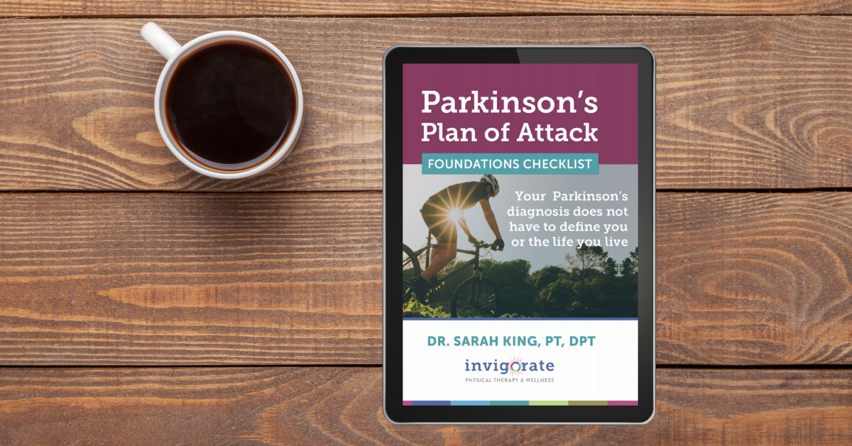 Click here to download your FREE Parkinson's Plan of Attack Foundations Checklist