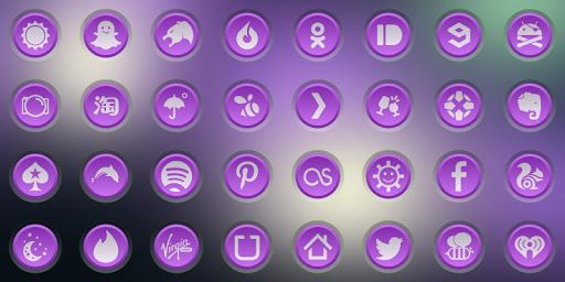 3K SR PURPLE - Icon Pack