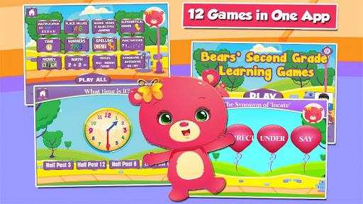 Second Grade Learning Games 3.15 screenshots 1