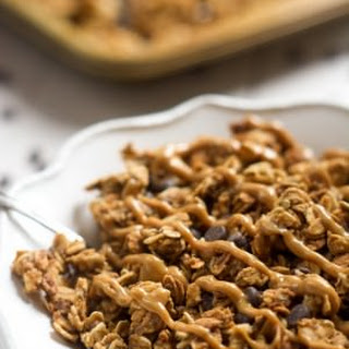 Lighter Peanut Butter Cup Granola