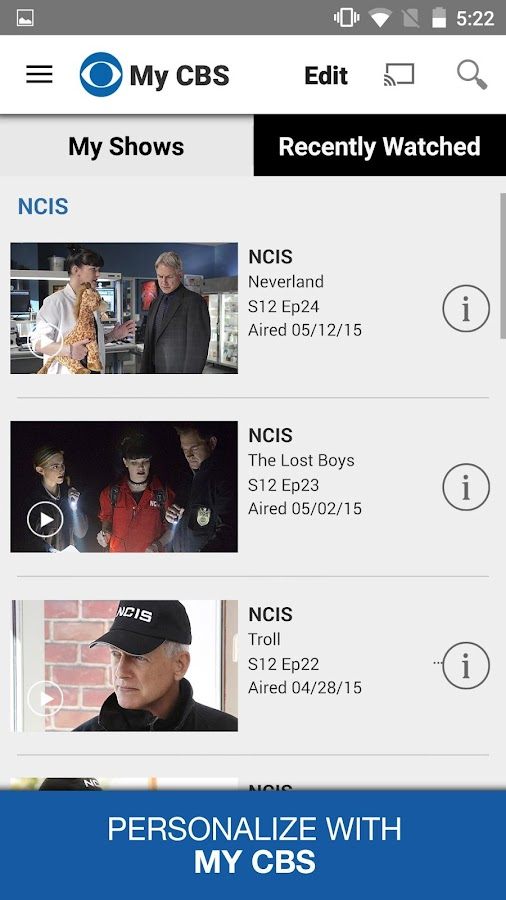 CBS- screenshot