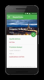 Torino Qualità dell'Aria - RespiraTorino - náhled