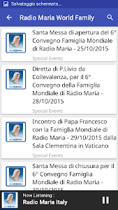 Radio Maria World Family screenshot 4