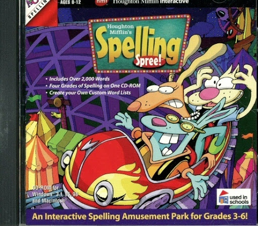 Video game:Houghton Mifflin's Spelling Spree!