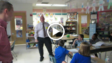 Video: Steven, a member of the Rotary Club of DeBary-Deltona-Orange City, along with Blake (Sher's son-in-law) talking to the third graders at DeBary Elementary School on September 23, 2014